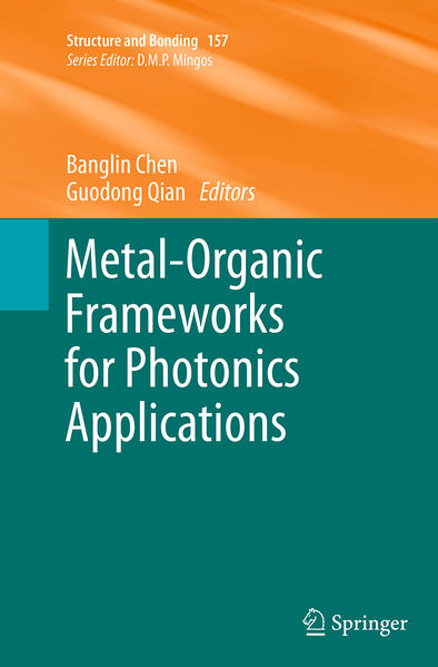 Metal-Organic Frameworks for Photonics Applications - Coverbild