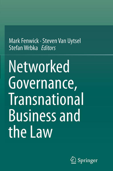 Networked Governance, Transnational Business and the Law - Coverbild