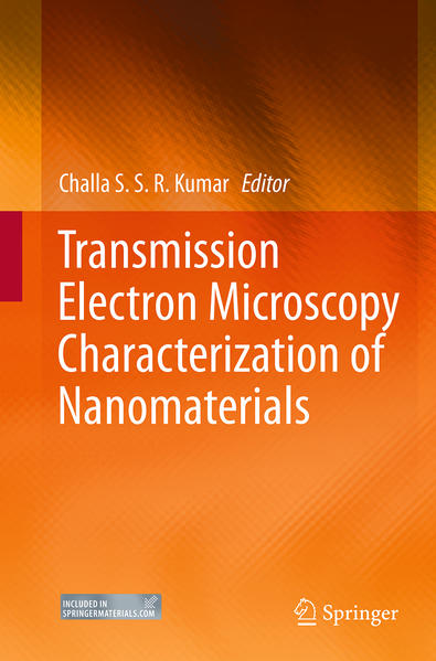 Transmission Electron Microscopy Characterization of Nanomaterials - Coverbild