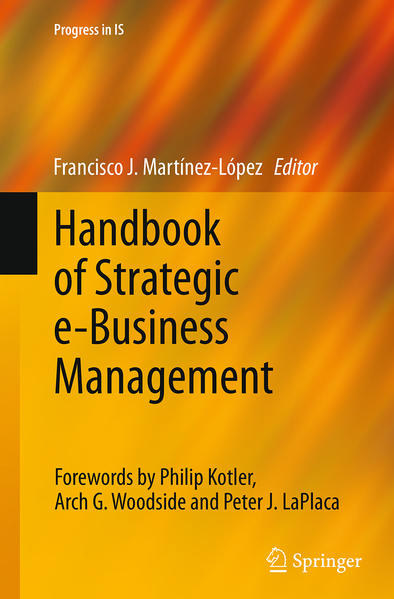 Handbook of Strategic e-Business Management - Coverbild