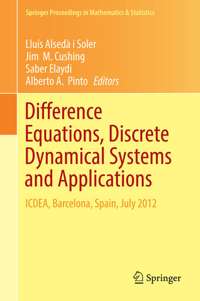 Difference Equations, Discrete Dynamical Systems and Applications - Coverbild
