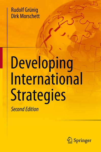 Developing International Strategies - Coverbild