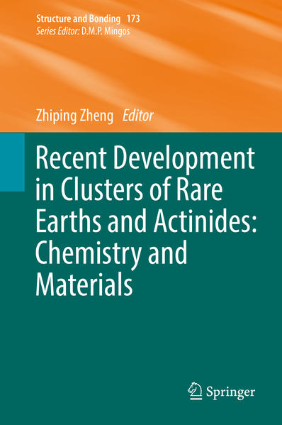 Recent Development in Clusters of Rare Earths and Actinides: Chemistry and Materials - Coverbild