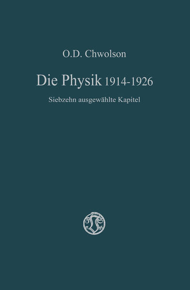 Die Physik 1914–1926 - Coverbild