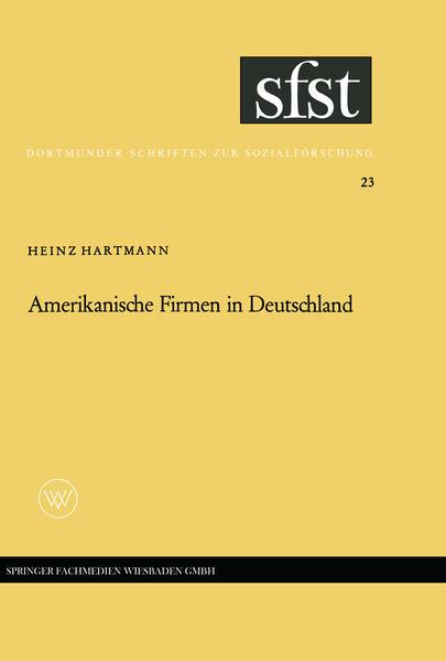 Amerikanische Firmen in Deutschland - Coverbild