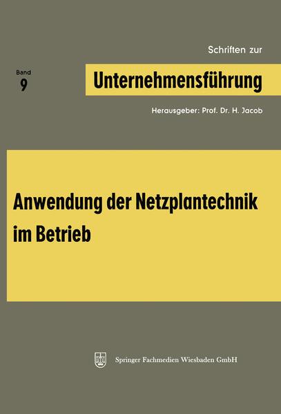 Schriften zur Unternehmensführung - Coverbild