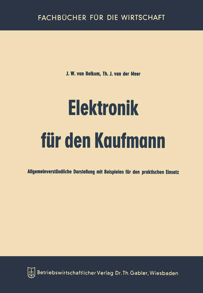 Elektronik für den Kaufmann - Coverbild