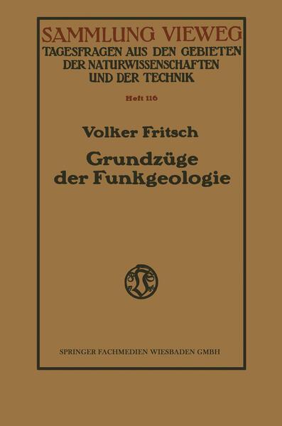 Grundzüge der Funkgeologie - Coverbild