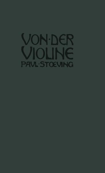 Von der Violine - Coverbild