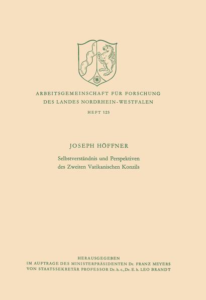 Selbstverständnis und Perspektiven des Zweiten Vatikanischen Konzils - Coverbild