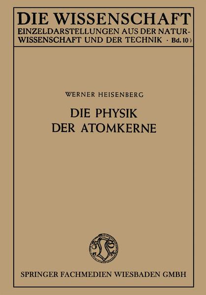 Die Physik der Atomkerne - Coverbild