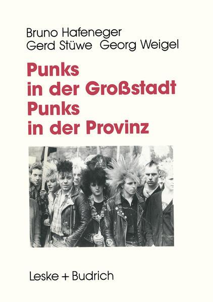 Punks in der Großstadt — Punks in der Provinz - Coverbild