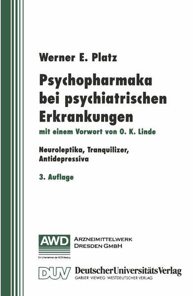 Psychopharmaka bei psychiatrischen Erkrankungen - Coverbild