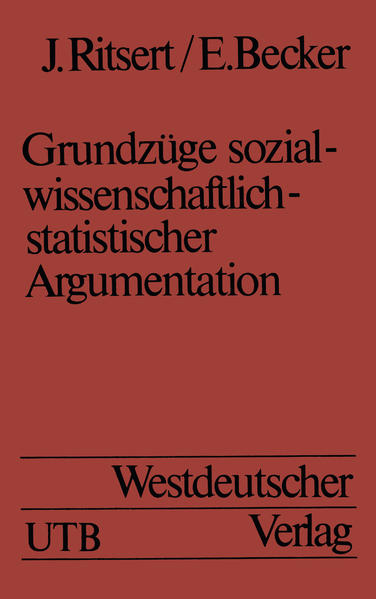 Grundzüge sozialwissenschaftlich-statistischer Argumentation - Coverbild