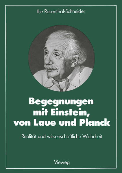 Begegnungen mit Einstein, von Laue und Planck - Coverbild