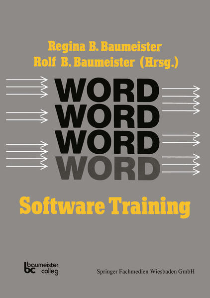 Word Software Training - Coverbild