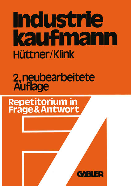 Industriekaufmann - Coverbild