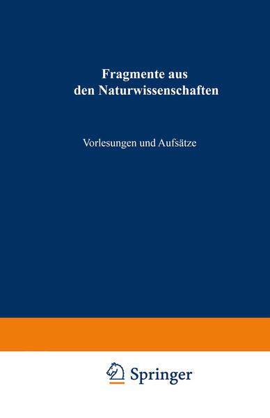 Fragmente aus den Naturwissenschaften - Coverbild