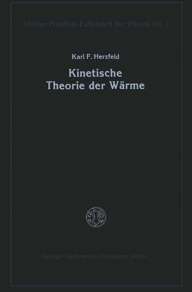 Kinetische Theorie der Wärme - Coverbild