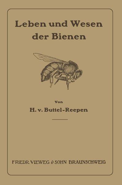 Leben und Wesen der Bienen - Coverbild