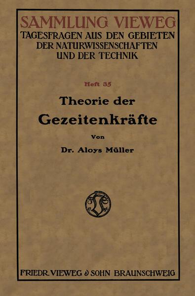 Theorie der Gezeitenkräfte - Coverbild