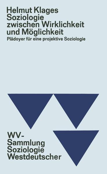 Soziologie zwischen Wirklichkeit und Möglichkeit - Coverbild