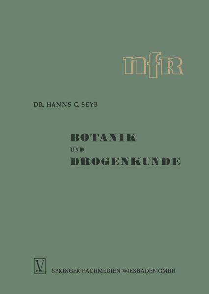 Botanik und Drogenkunde - Coverbild