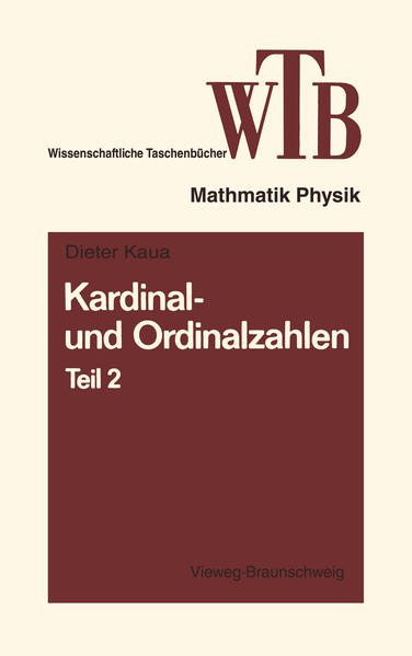 Kardinal- und Ordinalzahlen - Coverbild