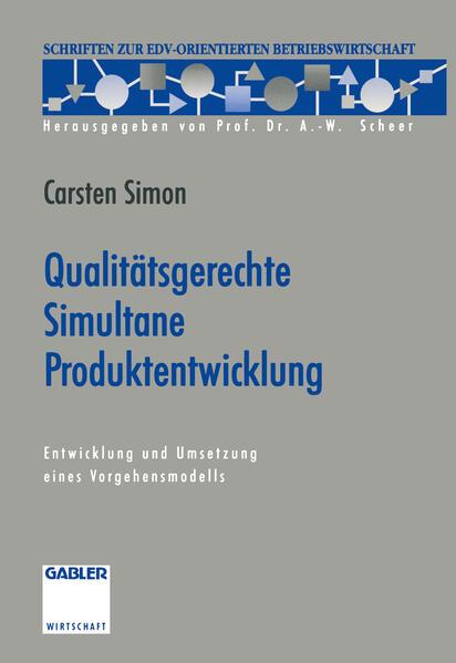 Qualitätsgerechte Simultane Produktentwicklung - Coverbild