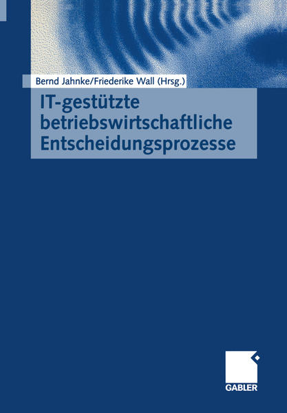 IT-gestützte betriebswirtschaftliche Entscheidungsprozesse - Coverbild