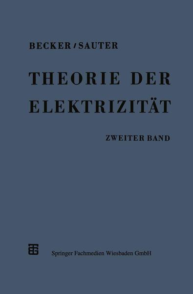 Theorie der Elektrizität - Coverbild
