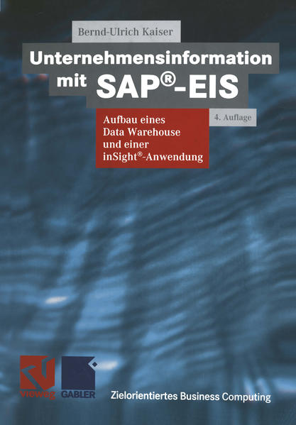 Unternehmensinformation mit SAP®-EIS - Coverbild