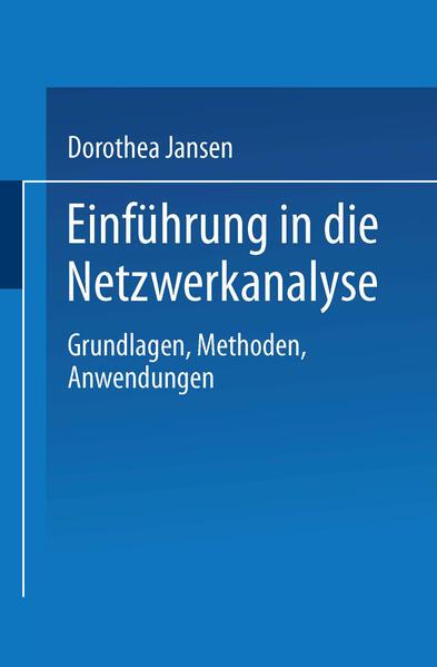 Einführung in die Netzwerkanalyse - Coverbild