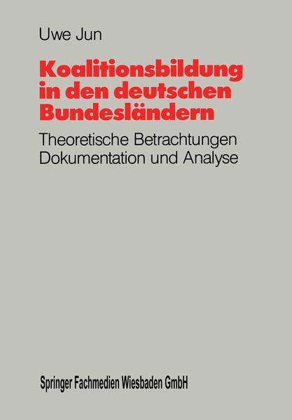 Koalitionsbildung in den deutschen Bundesländern - Coverbild