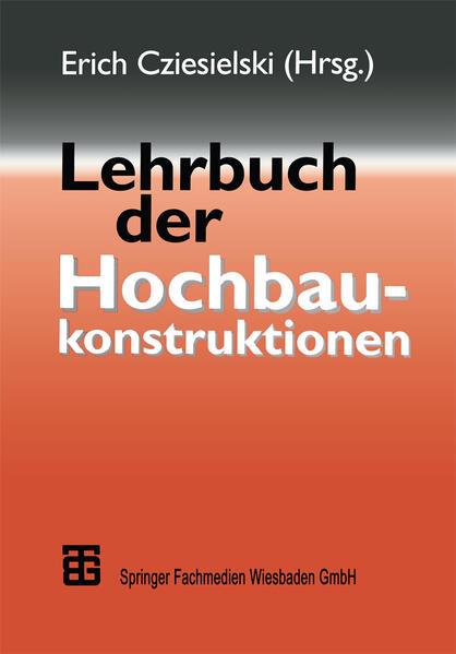 Lehrbuch der Hochbaukonstruktionen - Coverbild