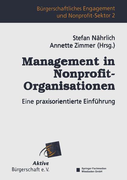 Management in Nonprofit-Organisationen - Coverbild