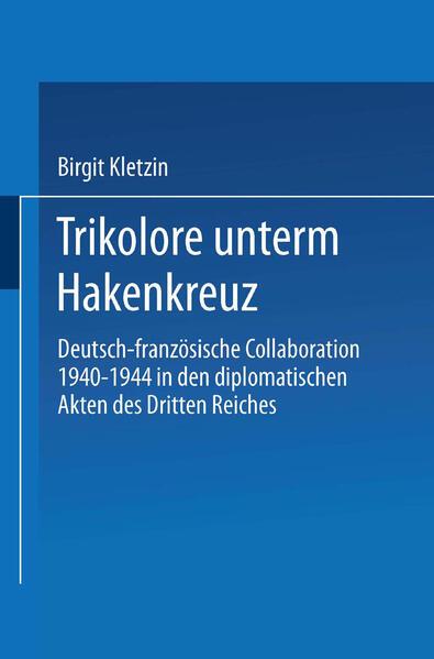 Trikolore unterm Hakenkreuz - Coverbild