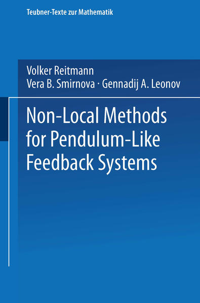 Non-Local Methods for Pendulum-Like Feedback Systems - Coverbild