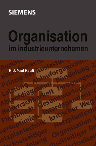 Organisation im Industrieunternehmen - Coverbild