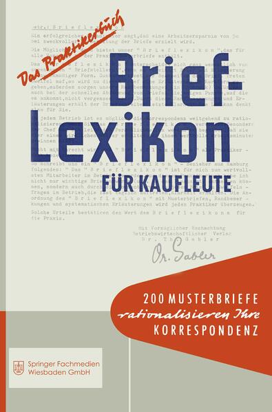 Brief-Lexikon für Kaufleute - Coverbild