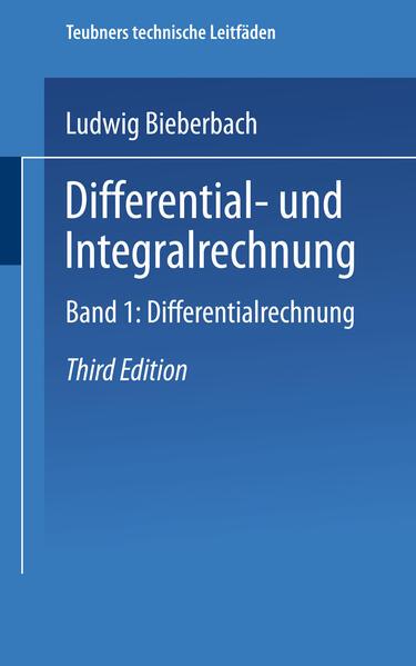 Differential- und Integralrechnung - Coverbild