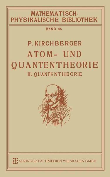 Atom- und Quantentheorie - Coverbild