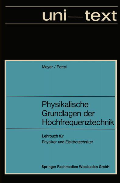 Physikalische Grundlagen der Hochfrequenztechnik - Coverbild