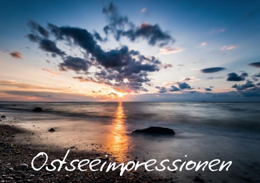 Ostseeimpressionen (Posterbuch DIN A2 quer) - Coverbild