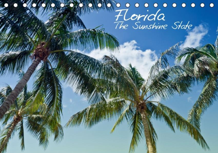 Florida - The Sunshine State (Tischkalender 2016 DIN A5 quer) - Coverbild