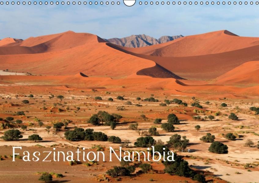 Faszination Namibia (Wandkalender 2016 DIN A3 quer) - Coverbild