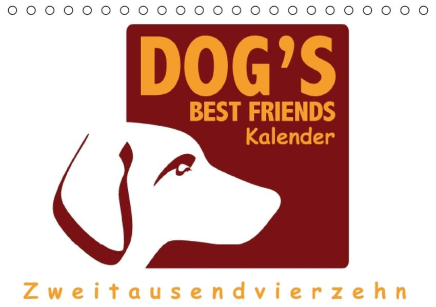 Dogsbestfriends Kalender 2016 (Tischkalender 2016 DIN A5 quer) - Coverbild