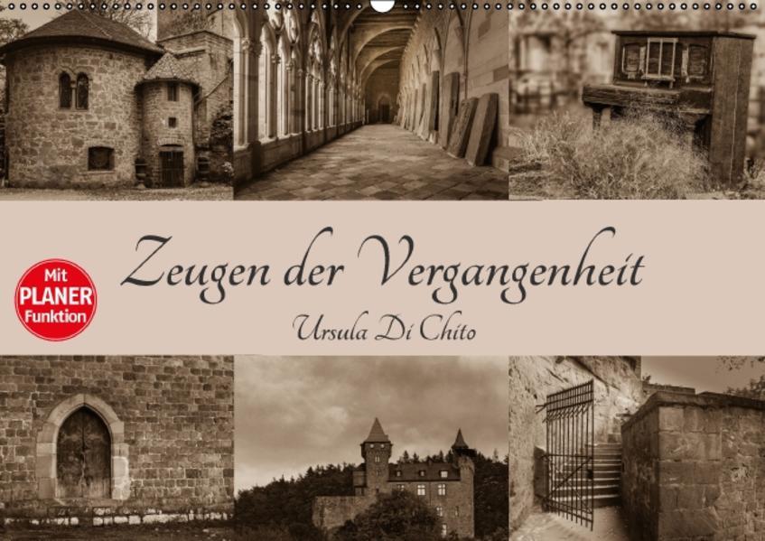 Zeugen der Vergangenheit (Wandkalender 2016 DIN A2 quer) - Coverbild