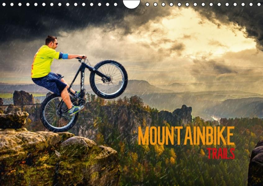 Mountainbike Trails (Wandkalender 2017 DIN A4 quer) - Coverbild