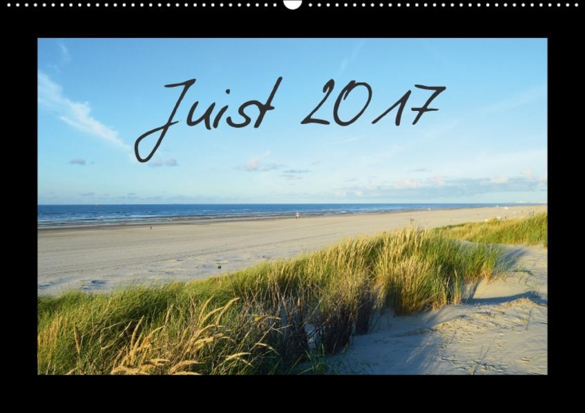 Juist – Insel im Wattenmeer (Wandkalender 2017 DIN A2 quer) - Coverbild